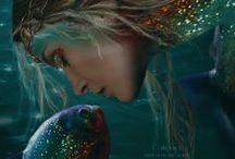 Sirene / Voglio essere la tua sirena, quella che ogni notte ti fa sognare.