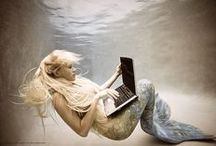 Mermaid Art / All photos found on The Nett.