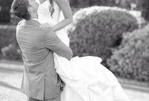 b&w wedding