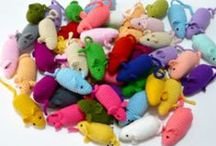 Fun with cats (f.i. DIY toys) / Cat toys you can make yourself and other nice things about cats