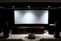 ⚓ Projector Setup | HT ⚓ / 1080p or 4K projector rooms at home.