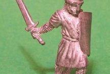miniature - armoured warriors