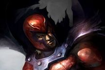 Magneto / Dit is Magneto van x men.