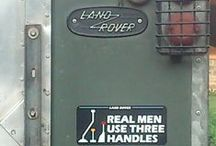 Land Rover decals / What would a Defender be without some humourous decals?