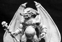 miniature - monster - devil, demon, imp