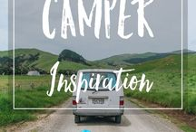 Camper Inspiration / All the inspiration you need for your own campervan!