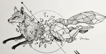çizimler / Academic Anatomy and Anime Drawings
