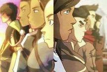 Avatar Aang & Avatar Korra