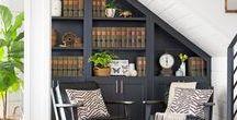 Book Nooks / Perfect Cozy Book Nooks