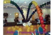 Event Decorations: Balloons  / Balloons can be fun and fanciful or elegant and sophisticated