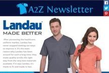 Newsletters / Sign up to receive our email newsletters at www.A2ZUniforms.com