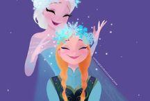 Frozen / Stuff from the movie frozen / by Hannah Bettis