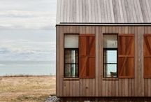 Wood Houses, Design and Interiors / modern wood stuff