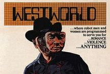 Westworld / A collection of our favorite pins about Westworld, the classic scifi movie written and directed by Michael Crichton.
