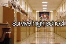 Highschool Survival / by Hannah Bettis
