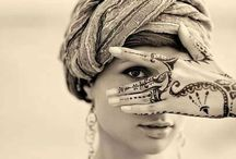 Henna Tattoo / Henna tattoo patterns & henna paste recipes / by Hannah Bettis