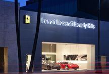 Ferrari Brand Identity: Worldwide Showrooms / Ferrari architectural image | Simona Franci - Fortebis Group