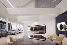 Maserati Brand Identity:Worldwide Showrooms / Maserati Architectural image | Simona Franci - Fortebis Group