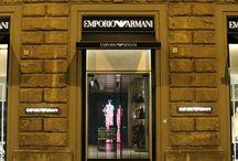 Emporio Armani, via Roma, Firenze