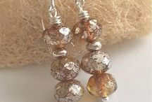 Jewelry using Mercury Finish Beads