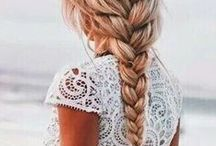 Hairstyles / Beautiful hairstyles for medium to long hair!