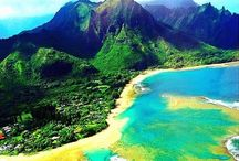 Dream Board / My vision board! Hawaii and Vermont.