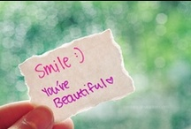 ♥♥ ~ Smile :) 'Coz you're beautiful ~ ♥♥ / ♥♥ I love these quotes ♥♥ I hope you do too! Some inspire me and others I just love haha :) ♥♥