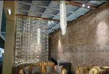 Lustres écologiques / Luminaires écologiques, en verre recyclé et éclairage à LED, une exclusivité des Artisans du Lustre: www.i-lustres.com