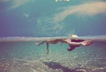 Under the water / and marmaid
