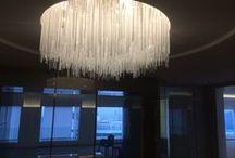 AREVA / Conception et réalisation d'un lustre pour la salle de réunion attenante au bureau du Président d'Areva. Le lustre a été entièrement conçu et réalisé sous l'impulsion de Lauriane Jallas, architecte d'intérieur et designer. A découvrir chez les Artisans du Lustre www.i-lustres.com