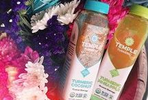 Temple Turmeric / Temple Turmeric is the world's first and finest family of turmeric-based Elixirs and Super Blends crafted to support your healthy inflammation response. #HonorYourBody