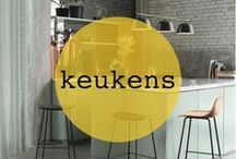 keuken ♡ shopinstijl.nl / De leukste ideeen en inspiratie voor jouw keuken! Scandinavisch of landelijk, een houten keuken, keukenblad van marmer of met een kookeiland en een bar. De mooiste tegels (kies jij grote tegels of kleine tegels) of kleuren. Of je nu een kleine of een grote keuken hebt, met een slimme indeling is van alles mogelijk. Ga jij voor een IKEA keuken of design? Wit, zwart of misschien wel roze of groen? Vind keukeninspiratie en natuurlijk jouw droomkeuken op Shopinstijl.nl!