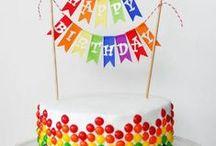 Birthday's party cake ideas