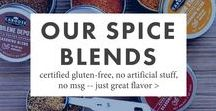 Caboose Spice & Co. Spice Blends / Handcrafted spice blends with no artificial flavors, MSG, or fillers. Certified Gluten-Free. Made in the USA.