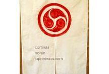 Cortinas japonesas noren
