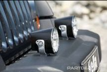 Lights and Keeping Safe / PARTDEAL.com carries a great selection of lights for heavy duty work and vehicles. We have Truck-Lite, Heavy Duty Lighting, Hobbs, Hella and more. We also carry reflective tape, reflective triangles and other items to keep you safe on the road and on the job. / by PARTDEAL.com
