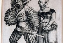 Camp follower clothing: Landsknecht (Germany) and Swiss clothing / German 16th century clothing and items.