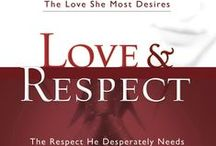 Marriage Books / What is Love and Respect? We believe love best motivates a woman and respect most powerfully motivates a man. Research reveals that during marital conflict a husband most often reacts when feeling disrespected and a wife reacts when feeling unloved.