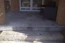 Porch and Veranda Ideas / Here are some example of porch or veranda stone work we've done for some clients. Sometimes the smallest little face lift goes such a long way.  Until next time, You Way...by New Way.