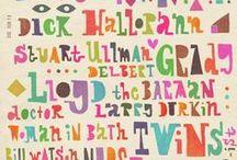 illumotives - abstract & letters