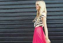 Стильные образы для современных модниц / Здесь мы собрали самые интересные и стильные варианты  сочетания предметов одежды.