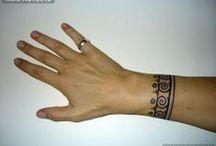 Татуировки-браслеты