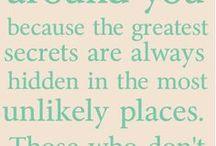 Citaten die ik leuk vind / Nice words
