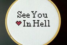 Ristipistot / Cross stitch
