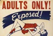 Twentieth century Propaganda / Stick it to the man and pin it on the board