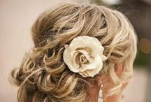 Wedding hairstyle + hair accesories