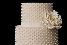 Wedding cake + topping