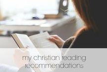 Favorite Reads / Only my top favorite Christian reads make this list! I highly recommend these pieces. They've dramatically transformed my walk as a Christian woman.