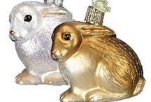 Ornaments for Easter / Collectible Christmas ornaments are great for all occasions, especially Easter. Tuck keepsake ornaments into the Easter basket amongst all that chocolate for something that will last and last)) http://www.trendyornaments.com