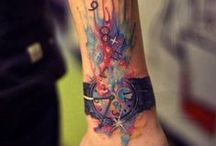 Tats / All the tats I dig and that lead to better versions of the tattoos I intend on getting. / by Cynthia Miguel